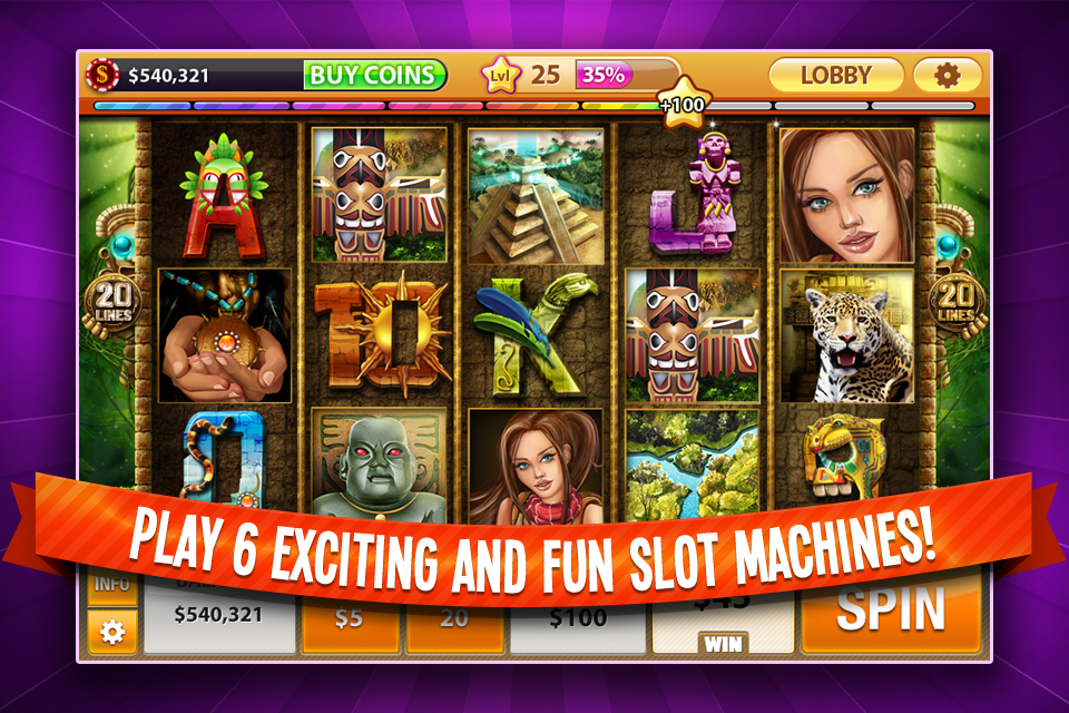 House Of Fun Slot Game   Free Version Of House Of Fun 3D